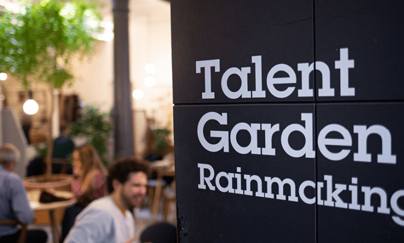 Talent Garden Rainmaking coworking space