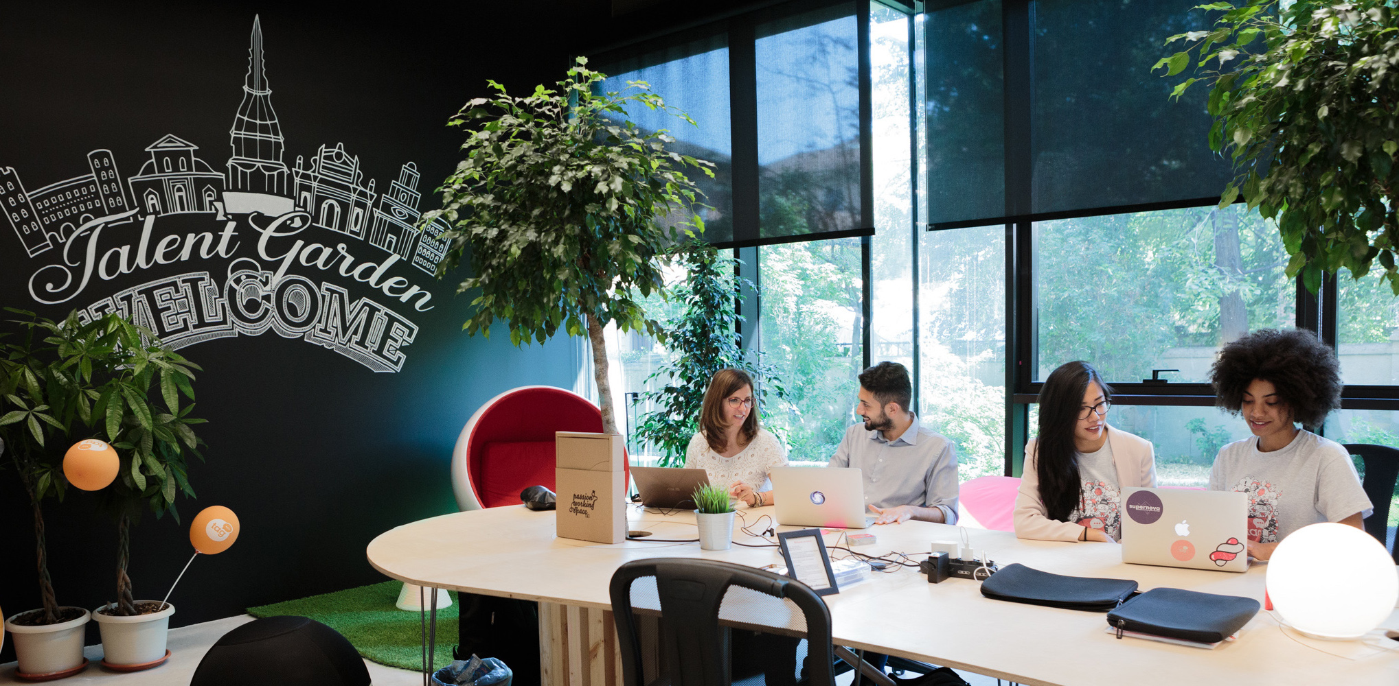 Coworking Madrid - Talent Garden