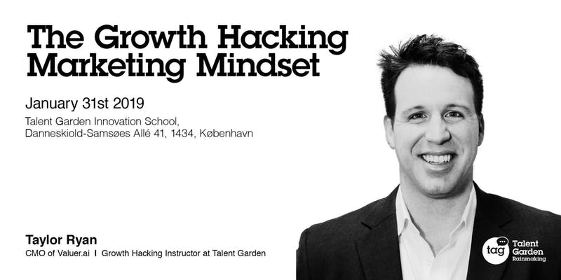 Talent Garden: growth hacker Taylor Ryan