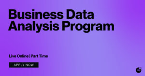 Business Data Analysis Online Program