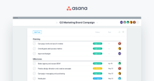 Asana for project managers