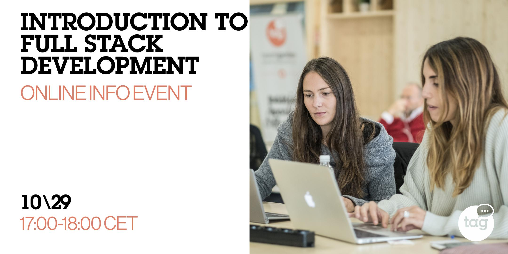 Introduction to Full Stack Development | Online Info Event